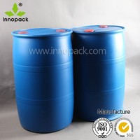 100% virgin HDPE plastic drum 200 liters for general packing