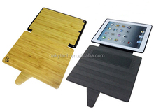 bamboo/wood + pc/tpu case for iPad 2345