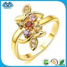 Accessories For Women Wedding Rings 24K Gold Dubai Wedding Rings Jewelry