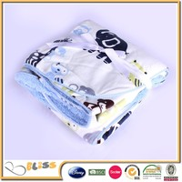alibaba china supplier Famous Brand soft polyester blanket fleece blanket