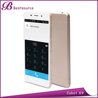 5.0inch 1280*720IPS big screen 2GB+16GB memory, front 5.0mp/rear 8.0mp camera super slim android Cubot x9 brand smart cell phone