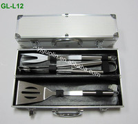 Top sellers 12pcs BBQ Aluminum case