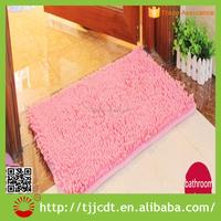 microfiber chenille 100% polyester floral carpet