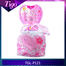 Lovely shoulder bag & hair accessory set kids party accessories