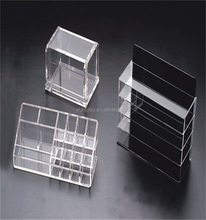 Acrylic Tiers Business Card Holder in Office