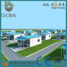 China manufacturer easy assembly quick delivery prefabricated house