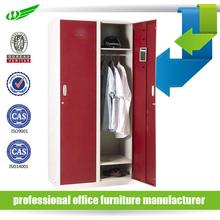 Bedroom Furniture Gym Or School Lockable Personal Vertical Metal Cheap Cloth Wardrobe / Locker Cabinet / Clothes Cabinet