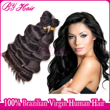Best selling products virgin brazilian wonderful loose body wave hair styles