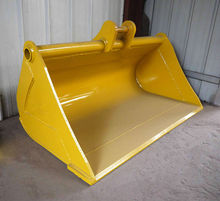 high quality excavator spares 1400mm batter bucket with bolts on edge