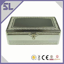 Hot Recommend Christmas Hot Sale Chinese Style Silver Jewelry Cases