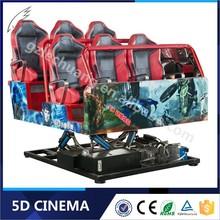 Newest Best Seller Commercial 6/8/9/12 Seats 4D 5D Cinema Simulator