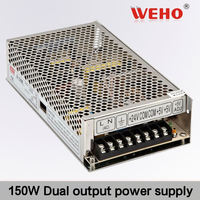 Electronic component 150W Dual output switching power supply ac dc power supply 15v 5a