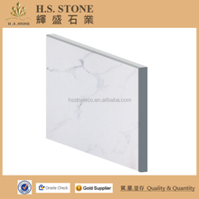 Carrara whtie marble composite tile 60x60 white compound stone laminated marble