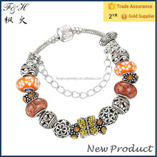 Mothers Day Gifts Cheap and Popular European Beads Charm Bracelet Jewelry