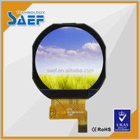 1.22 inch small tft display ips type with Capacitance touch screen