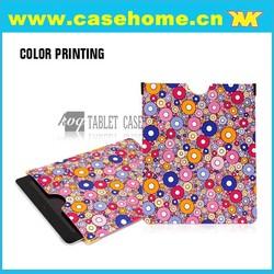 coloful pu leather sleeve case for ipad 2/3/4