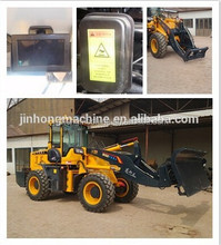 ZSZG Canada customer ordered bulk materials 1.5 m3 bucket 3 ton snow bucket loader for sale