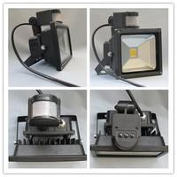 led outdoor flood light wall 50 watt with PIR sensor with 3years warranty