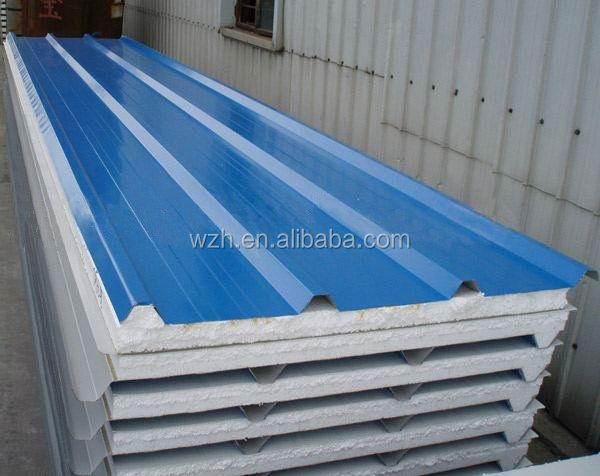 Eps Insulation Panels : Eps sandwich panel price metal clad foam