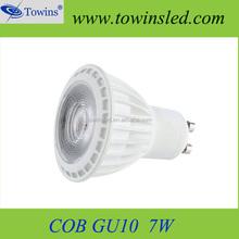 wholesale aluminum 5w mini COB LED Spotlight GU10 Rohs approved with 480lm