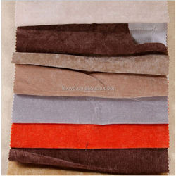 Wholesale High Quality Red Color sofa fabric samples