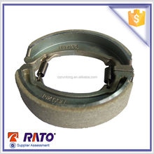 2015 best selling CBT125-A motorcycle in chongqing dirt bike brake shoe and top quality brake shoe.