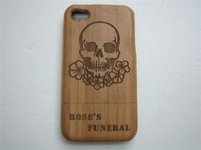 Beautiful Natural Wooden Casing cover for iPhone 4 4S