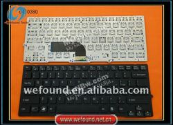 laptop keyboard for sony VPC-SD BLACK silver