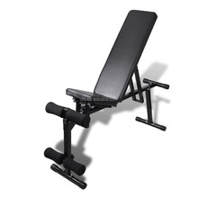 ADJUSTABLE DECLINE INCLINE HOME GYM WEIGHT BENCH SUB58 SIT UP ABDOMINAL AB FITNESS FID
