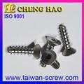Hexagonal Socket avellanados cabeza tornillos de acero