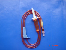Opaque tubing disposable iv infusion set iv set