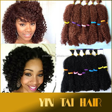 Synthetic Hair Extension Jumbo Braid Premium Noble Kinky Bulk Hair For Braiding 100% Kanekalon hair extension