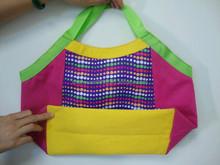 2015 fashionable non-woven women shopping bag , canvas shopping bag