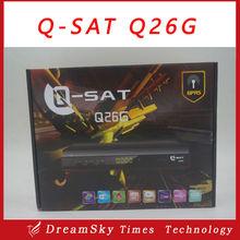 Qsat q26g receiver Hd decoder q-sat q26g HD q sat q26g qsat satellite decoders hd for africa