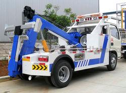 DongFeng 4X2 wrecker truck tow truck winch for sale wrecker towing truck