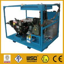 Diesel Driven Pipeline Pressure Testing Booster Pump