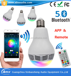 Small volume loud voice with LED light cheap bluetooth speaker