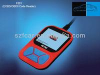 New arrival FCAR F501 OBD-II /EOBD code reader for garage equipment tools cars diagnostic scanner tools