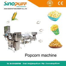 Hot Air Popper Popcorn Processing Line