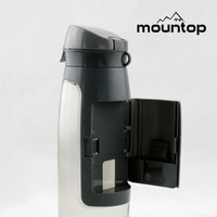 New arrival sport bottles bpa free bicycle water bottle pet water bottles container