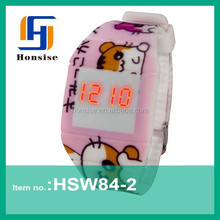 2015 Latest Kids Pocket Small Digital Watches For Girls