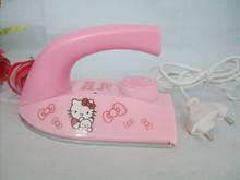 mini cretive cartoon electric iron hello kitty electric iron portable electric iron