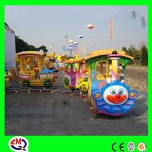 train for amusement park, amusement park electric fairy train