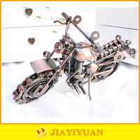 Middle Size Metal Crafts Iron Handmade Motorcycle Models for home decorative