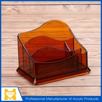 Professional acrylic greeting card display stand