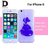 Epoxy color skin for iphone 6, custom design epoxy color skin for iphone
