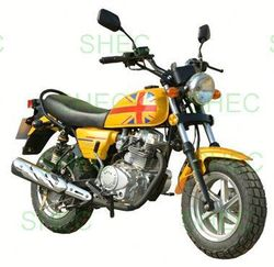 Motorcycle 125cc cruiser bike