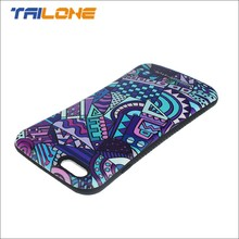 printing plastic mobile phone cover for iphone 6 case custom printed