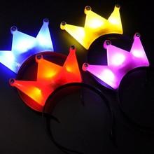 LED flash Headband Tiara,Light-emitting toys,Tomodachi Collection Ornaments