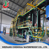 asphalt SBS modified bitumen waterproofing rolls for roofing machinery and equipment